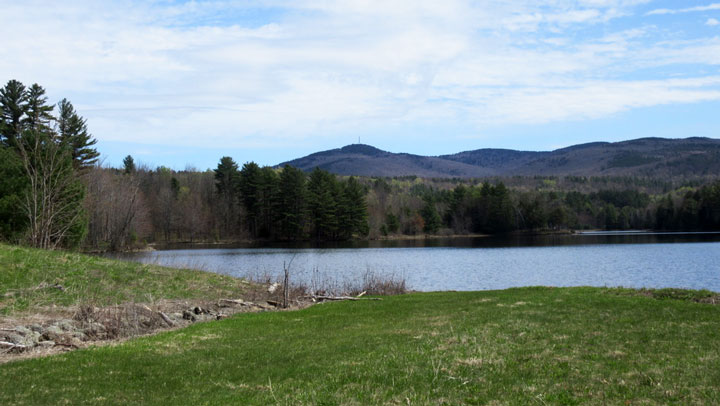 Gunnison Lake and Mount Sunapee