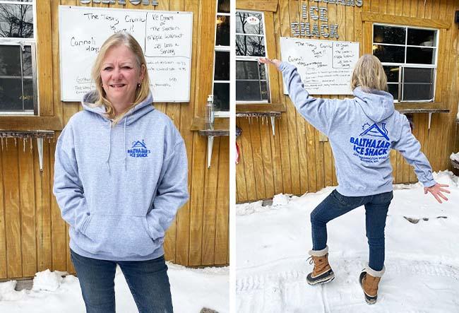 Balthazars Ice Shack sweatshirt