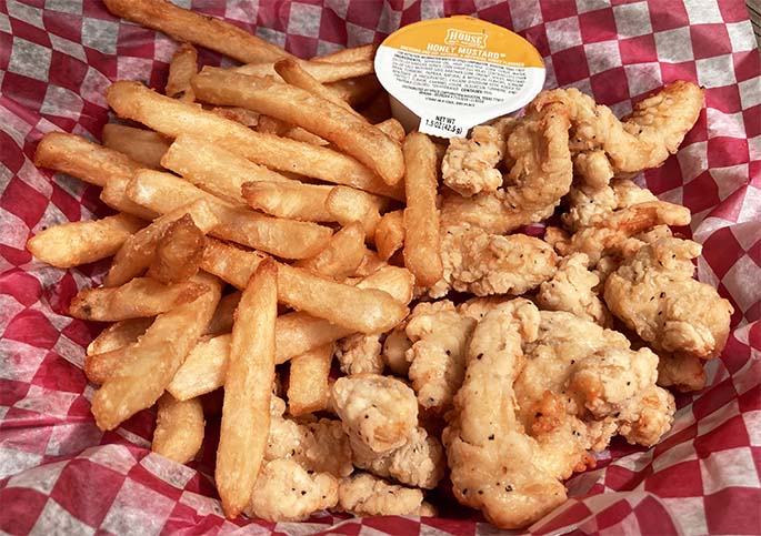 Chicken Dippers with Fries & Dipping Sauce